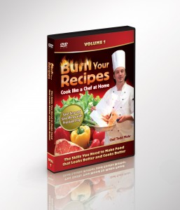 Cooking DVDs