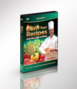 3D Cooking DVDs Vol 3
