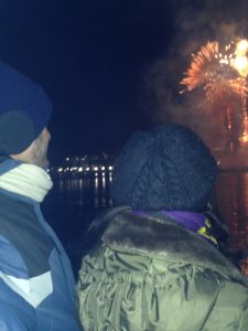 Massive Fireworks at the Inner Harbor