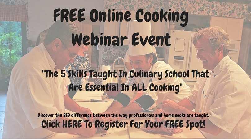 FREE Cooking Webinar Event